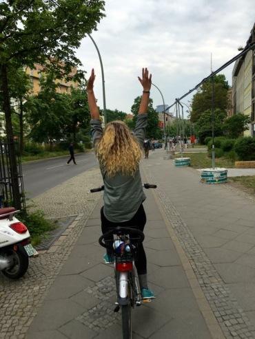 Biking around Berlin