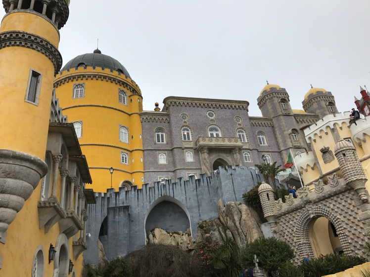 Sintra, Portugal Pena Castle Beautiful Views and Colors