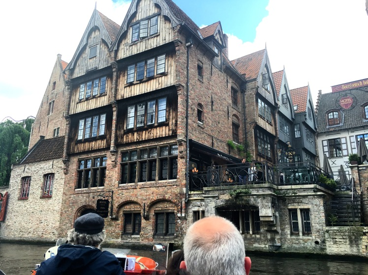 "Famous house from ""In Bruges"" Movie"