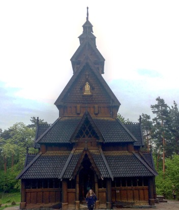 Gol Stave Church Oslo Norway