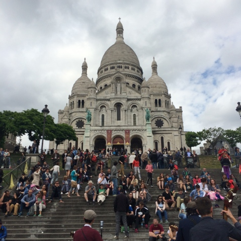 Sacre-Coure Paris so beautiful