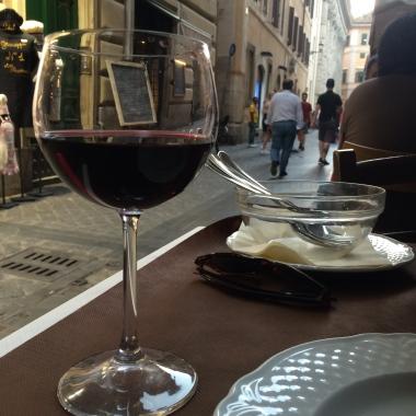 Italian Wine in Assisi