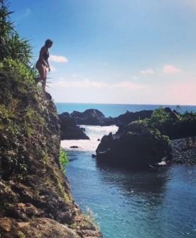 Cliff Jump Venus Pools Maui
