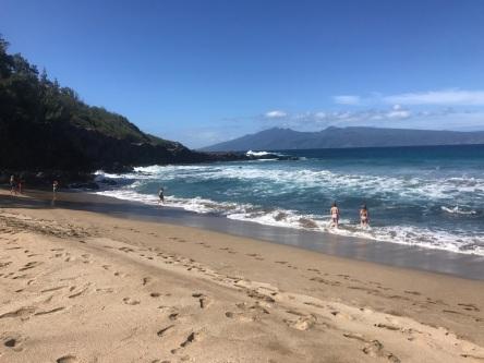 Slaughterhouse Beach Maui Hawaii