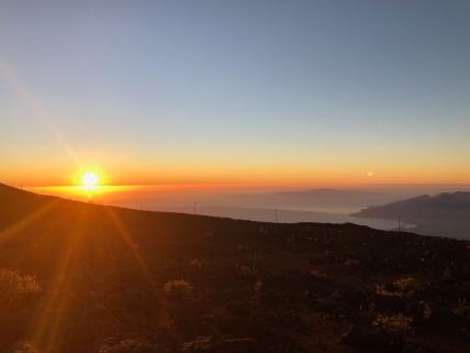 Sunset Haleakala National Park - Maui