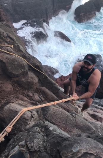 Chutes and Ladders Climb Maui