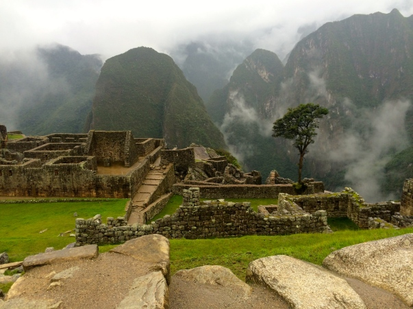 going to machu picchu